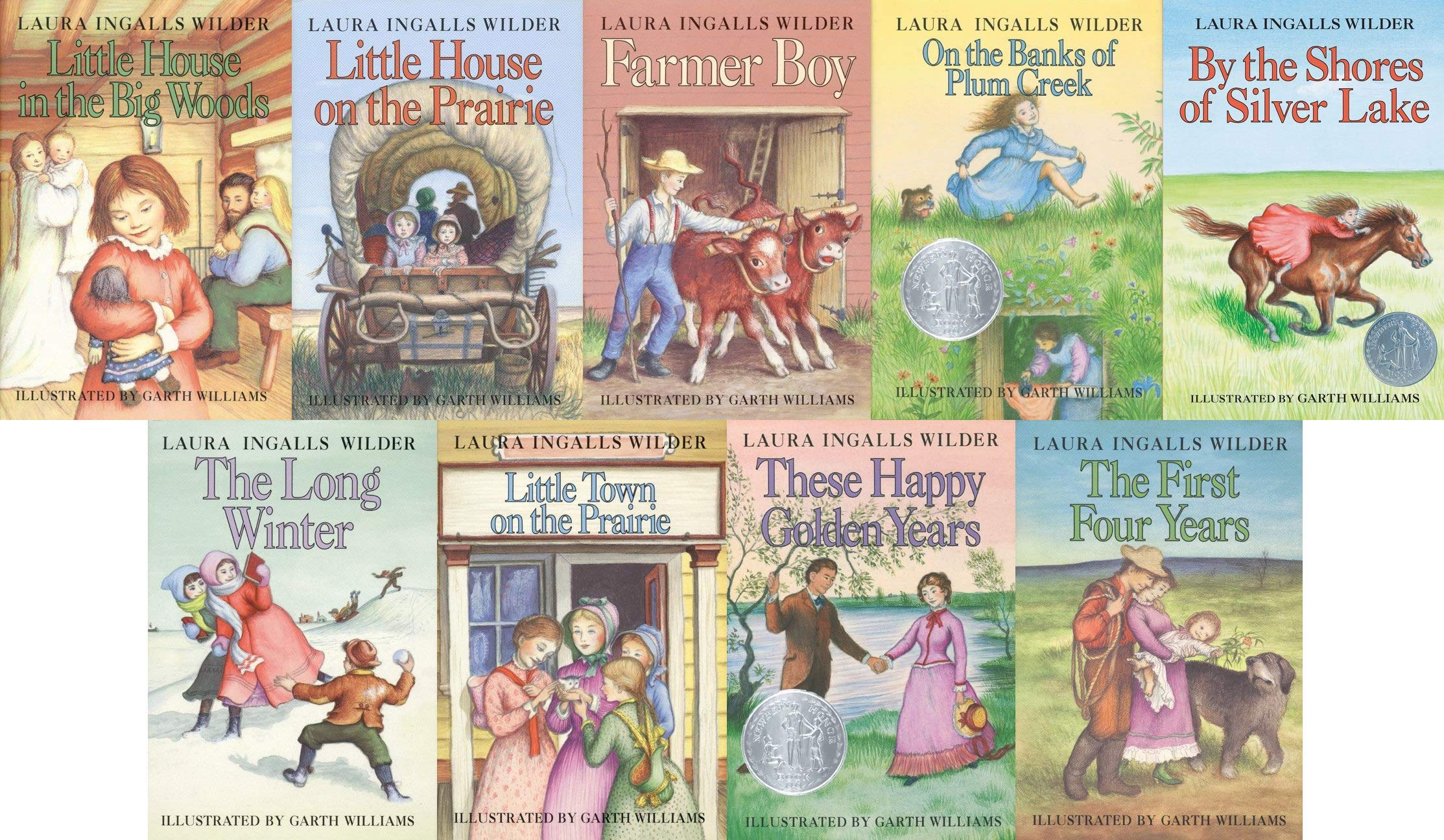 The Little House Books Complete Set: Laura Ingalls Wilder, Garth Williams:  Amazon.com: Books