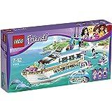 LEGO® Friends Dolphin Cruiser Yacht with Minifigures Mia, Maya, & Andrew   41015
