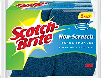 Scotch-Brite 6-Count Non-Scratch Scrub Sponge