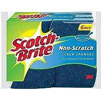 Scotch-Brite Non-Scratch Scrub Sponge, 6-Sponges