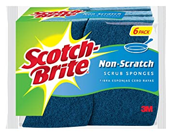 Review Scotch-Brite Non-Scratch Scrub Sponge,