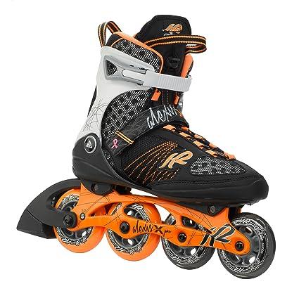 1c60b8f442c K2 Skate Women's Alexis X Pro Inline Skates, 4, Tangerine/Black