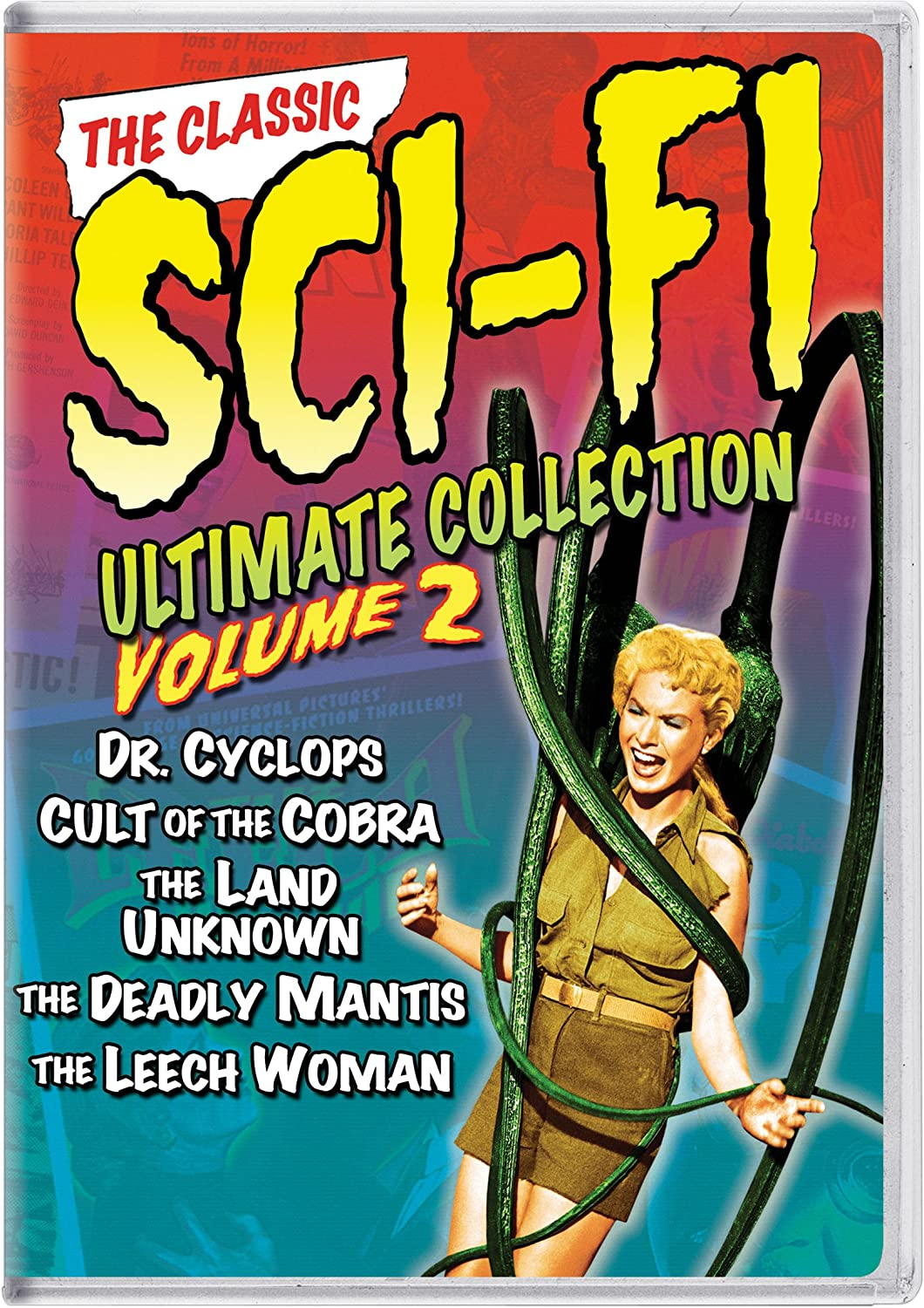 The Classic Sci-Fi Ultimate Collection: Volume 2 Dr. Cyclops / Cult of the Cobra / The Land of the Unknown / The Deadly Mantis / The Leech Woman