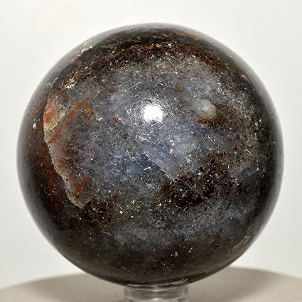 """HQRP juego: 2.6 """"de profundidad azul Iolite esfera Natural cordierita bola de cristal"""