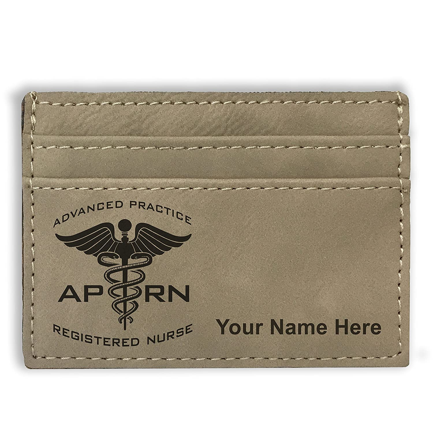 Personalized Engraving Included Money Clip Wallet APRN Advanced Practice Registered Nurse