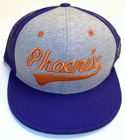 c1078d0763bc0 Image Unavailable. Image not available for. Color  NBA Phoenix Suns Flat  Bill Snapback Adidas Hat ...