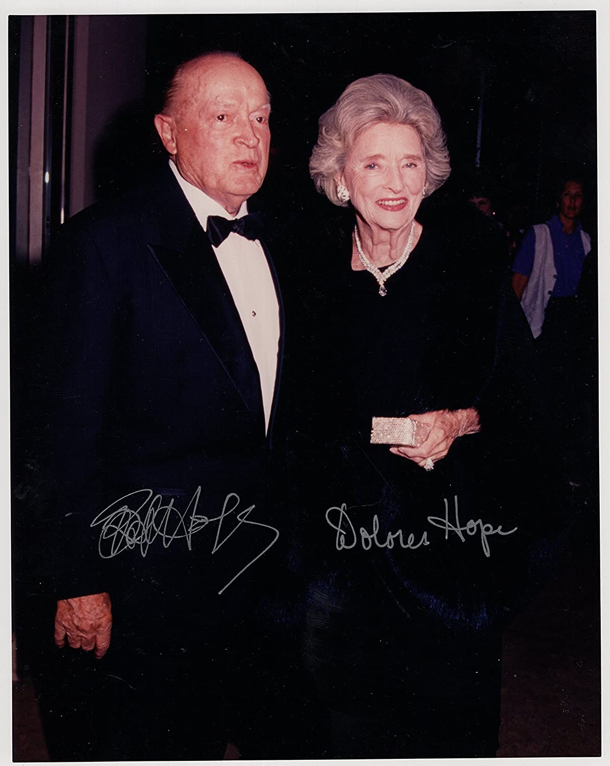 BOB HOPE AUTOGRAPHED 8x10 PHOTO+COA SIGNED BY HIM+WIFE at Amazon's  Entertainment Collectibles Store