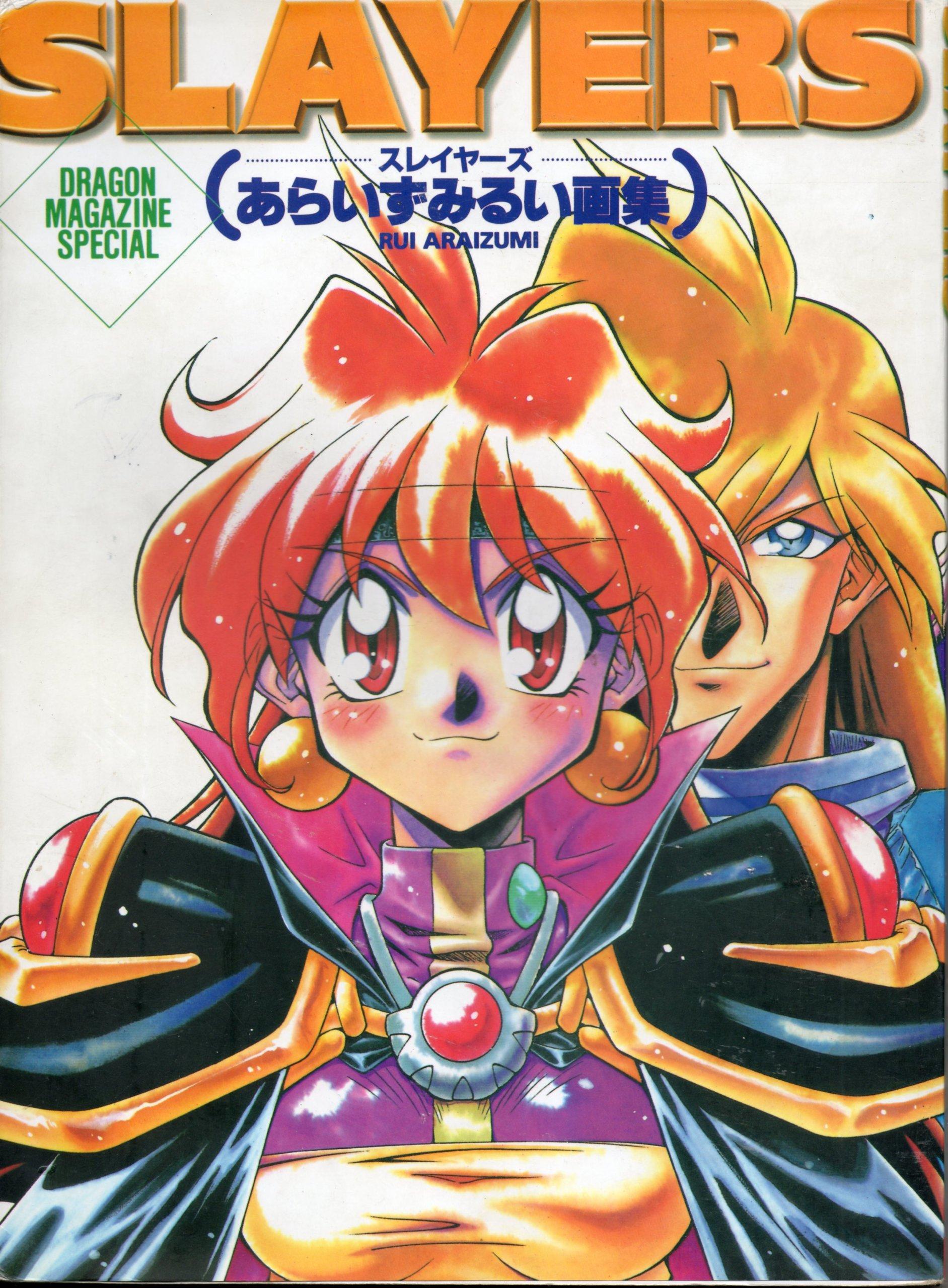 Slayers Dragon Magazine Special (Japanese Anime & Manga Artbook) (Japonais) JP Oversized Fujimishobo 482919118X S0-28-003-004