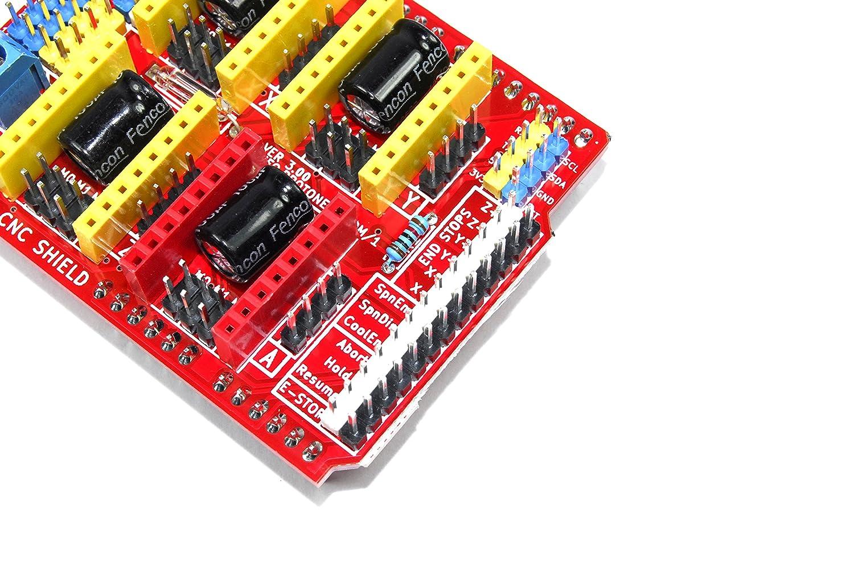 Arduino CNC Shield V3/A4988/3D Printer incisore 12/V Proto Gbrl