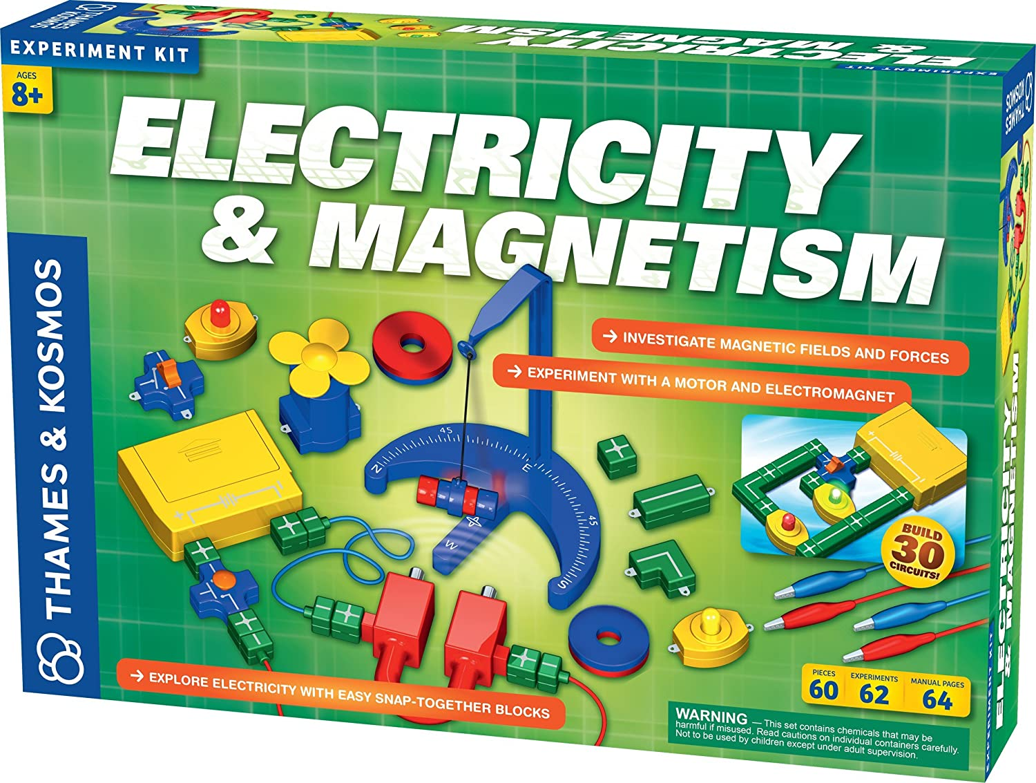 Electricity and Magnetism Science Kit