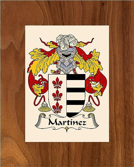 Amazon Com Carpe Diem Designs Martinez Coat Of Arms Martinez Family Crest 8x10 Photo Plaque Personalized Gift Wedding Gift