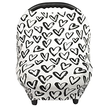 Breastfeeding Cover u2013 Nursing Cover scarf - Infant Car Seat Canopy Shopping Cart Stroller  sc 1 st  Amazon.com & Amazon.com: Breastfeeding Cover u2013 Nursing Cover scarf - Infant Car ...