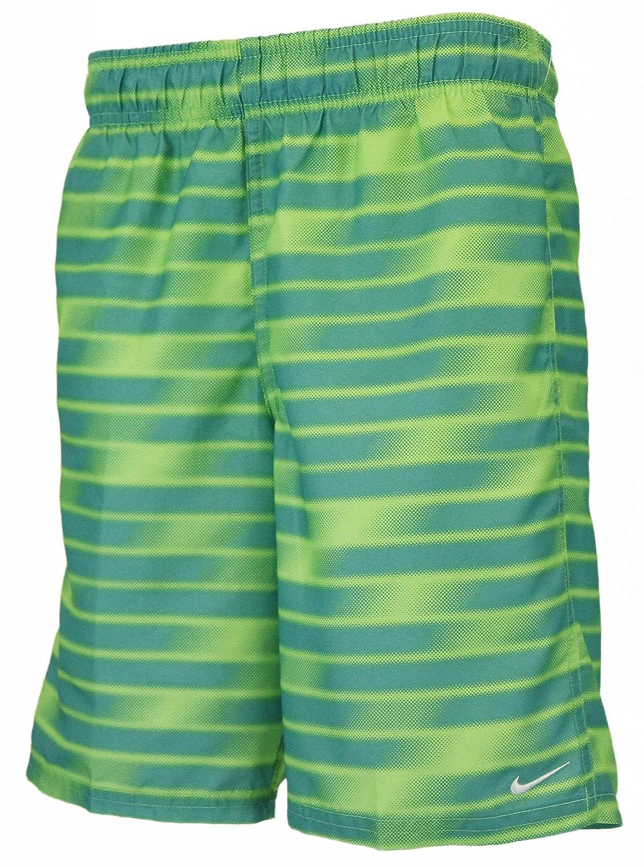 8bdf10be61 Amazon.com: Nike Swim Boys 8 Volley Short - Green Strike (Large): Clothing