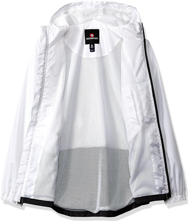 3a71519e43 Amazon.com  Southpole Boys  Big Colorblock Water Resistance Windbreaker  Hooded Jacket  Clothing