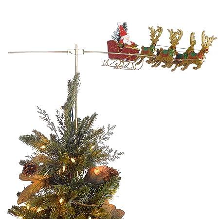 Flying Santa Animated Christmas Tree Topper - Flying Santa Animated Christmas Tree Topper: Amazon.co.uk: Kitchen