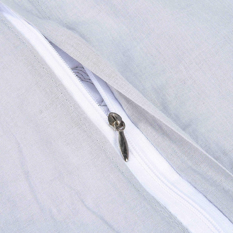 Unimall Dessus de Lit Couvre Lit Couverture Matelass/é en Coton 100/% Courtepointe Grande D/écoration Parure de lit 3 Pi/èces (style1)