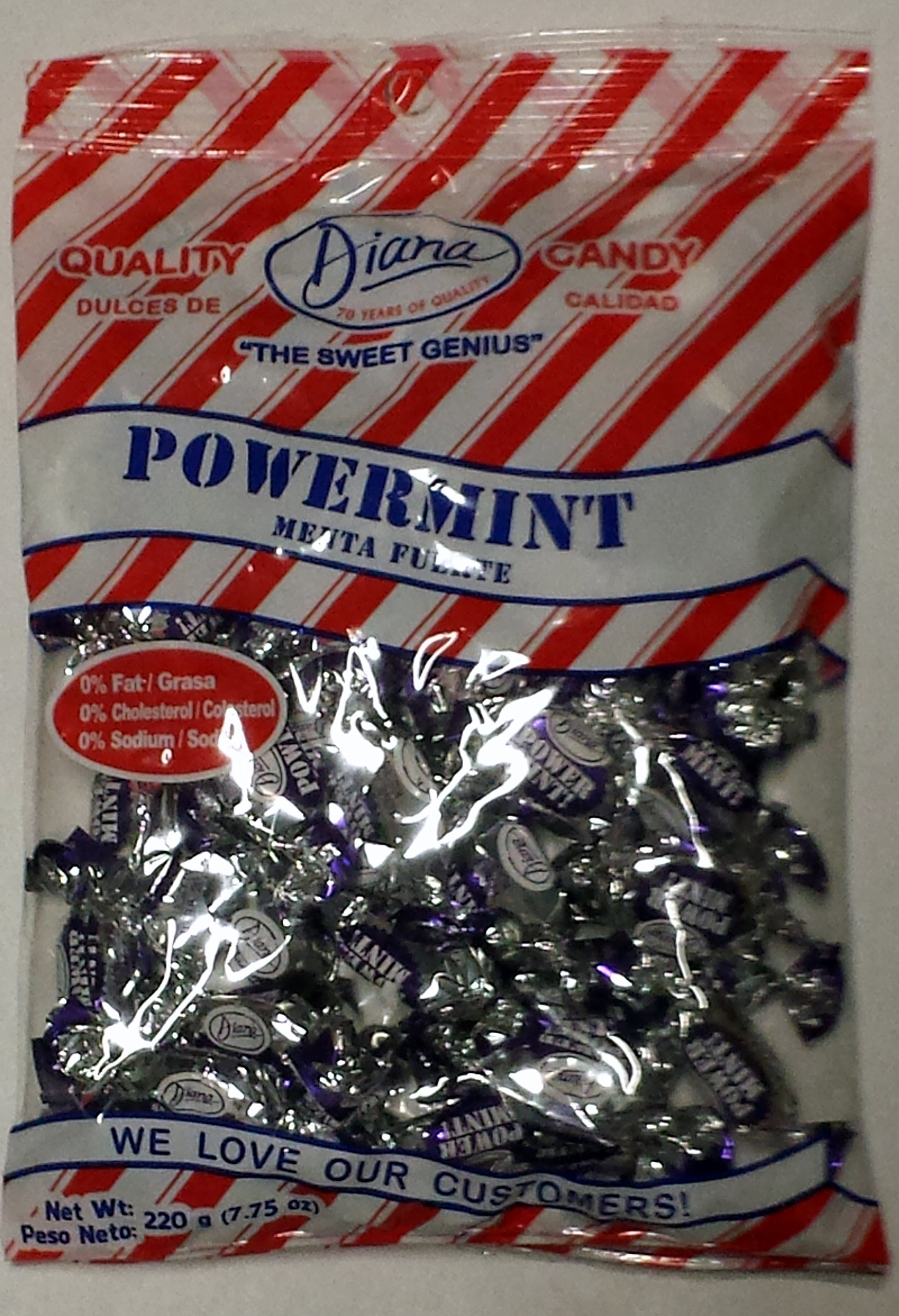 Powermint Candy by Diana - 220g - 24pack by Diana (Image #1)
