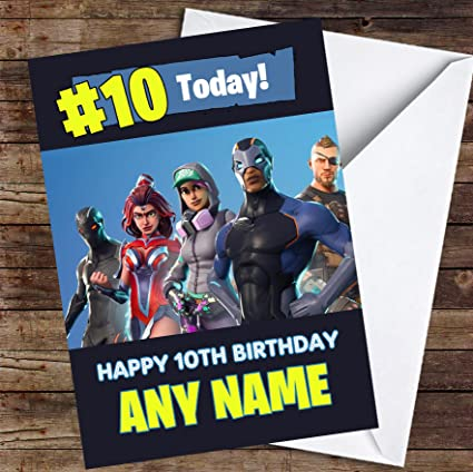 Amazon Com Fortnite Game Battlepass Skins Any Age Personalized