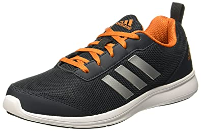 Adidas Men s Yking 1.0 M Ntnavy Corred Silvmt Running Shoes - 11 UK ... 7c88b7637
