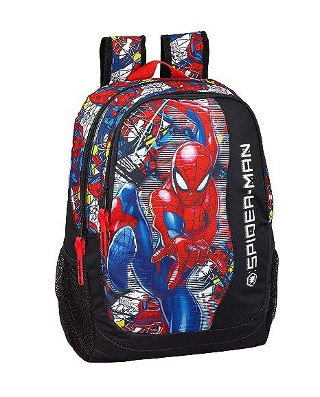 "Spiderman ""Super Hero"" Oficial Mochila Escolar 320x160x440mm"