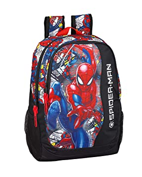 "Spiderman ""Super Hero"" Oficial Mochila Escolar 320x160x440mm"