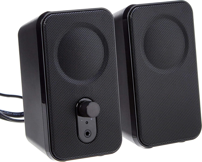Speaker For Music Games NEW 6W USB Power Laptop Computer Speaker with Ear Jack