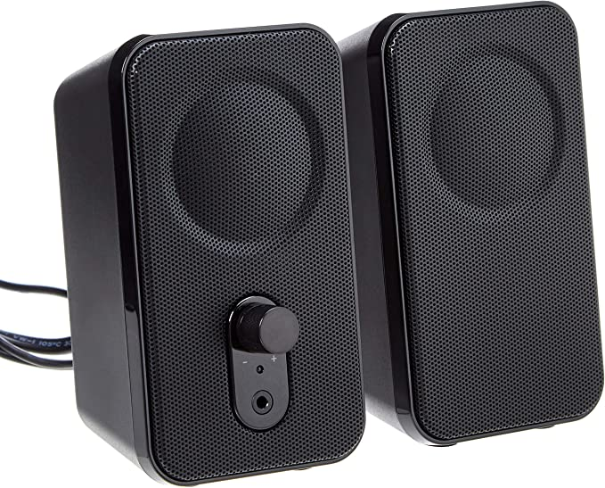 Amazon Basics Computer Speakers for Desktop or Laptop PC  ACPowered US Version at Kapruka Online for specialGifts