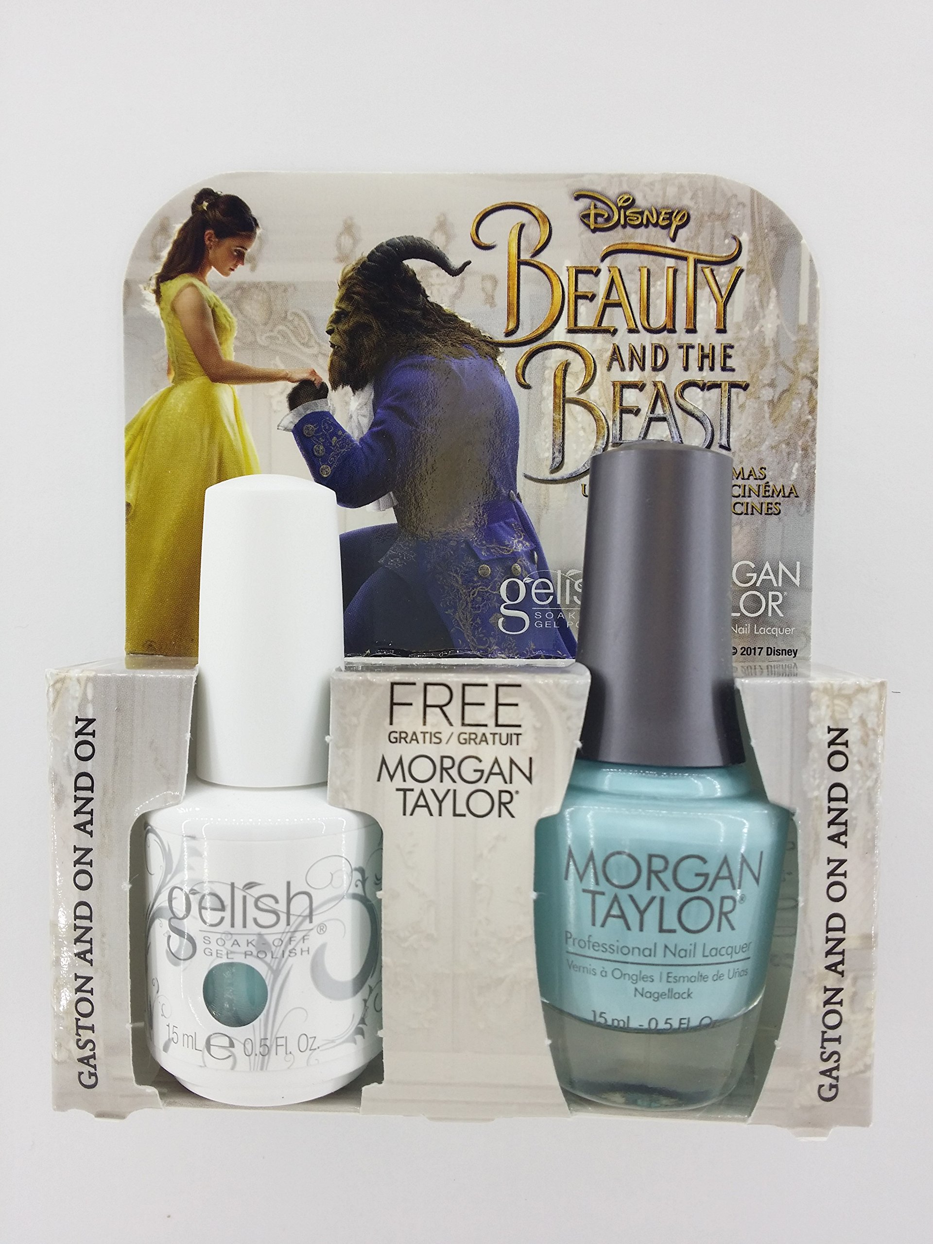 Amazon.com: Gelish & Morgan Taylor Beauty And The Beast Duo Be Our ...