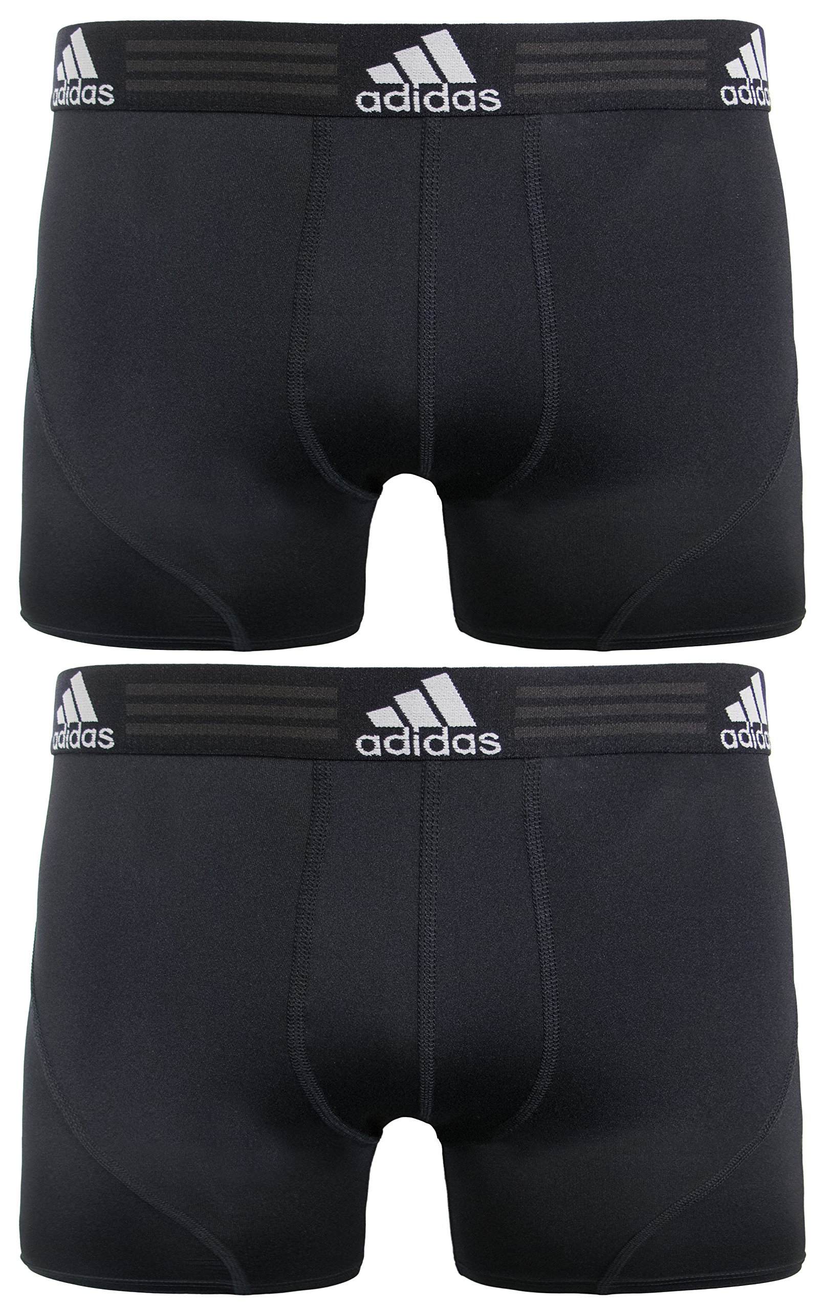 adidas Men's Sport Performance Climalite Trunks Underwear (2-Pack)