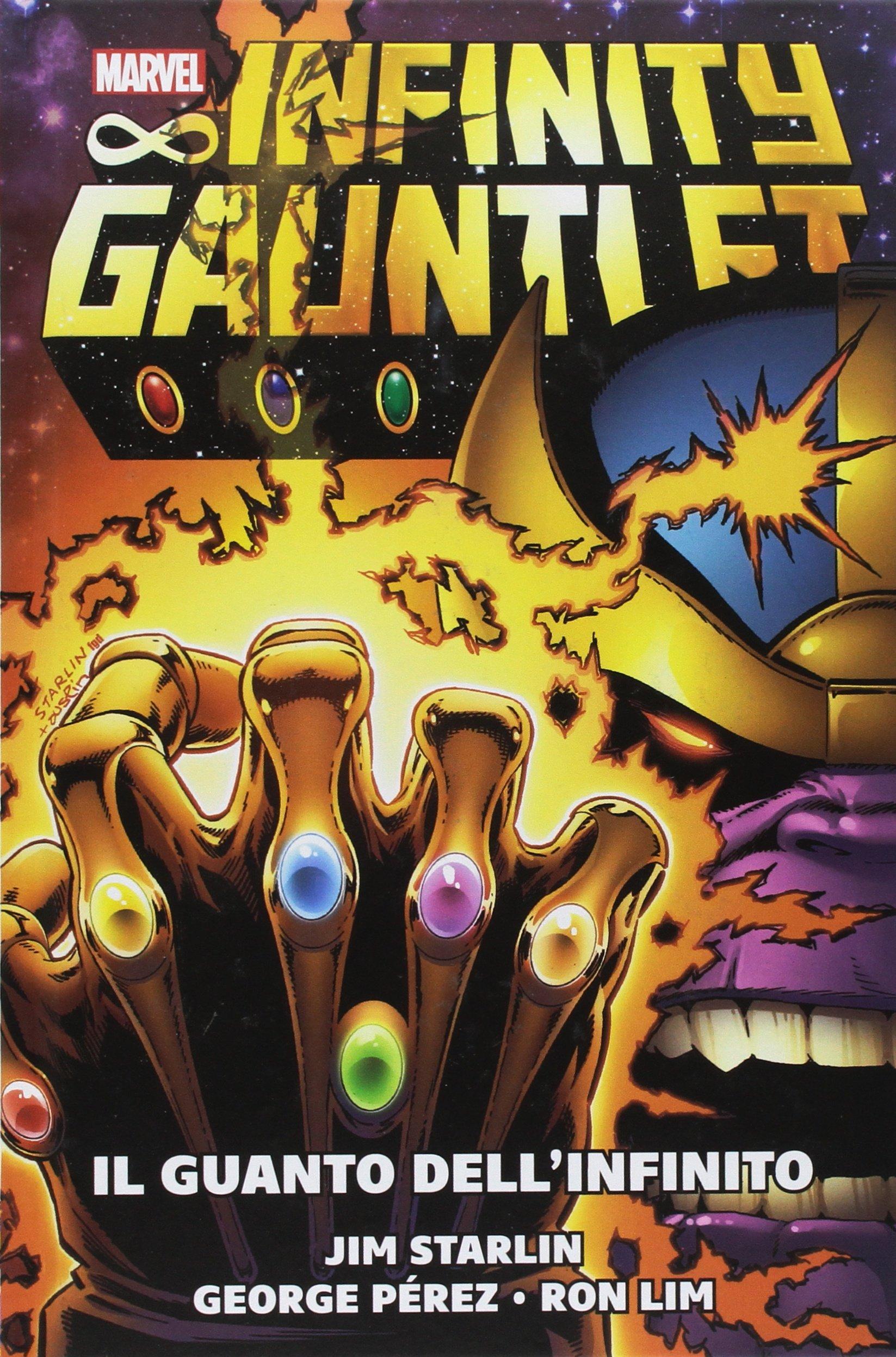 Il guanto dellinfinito. Marvel history: Amazon.es: Starlin ...