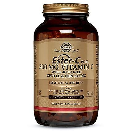 Solgar Ester-C Plus 500 Mg - 250 Cápsulas