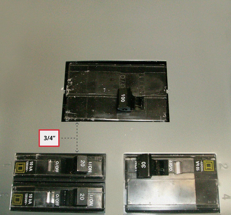 """Square D Model 5 3"""" Blank Door"""