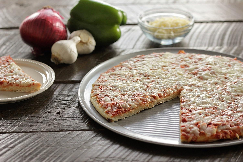 12-Inch 1090PZ USA Pan Bakeware Aluminized Steel Pizza Pan
