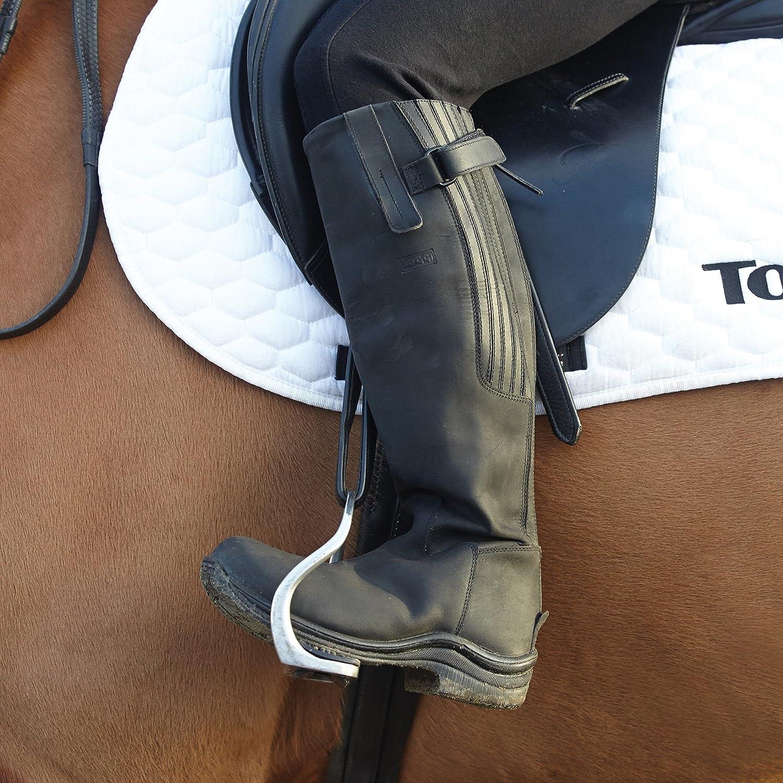 554-0009 Toggi Calgary Tall Boots (Black, 39)