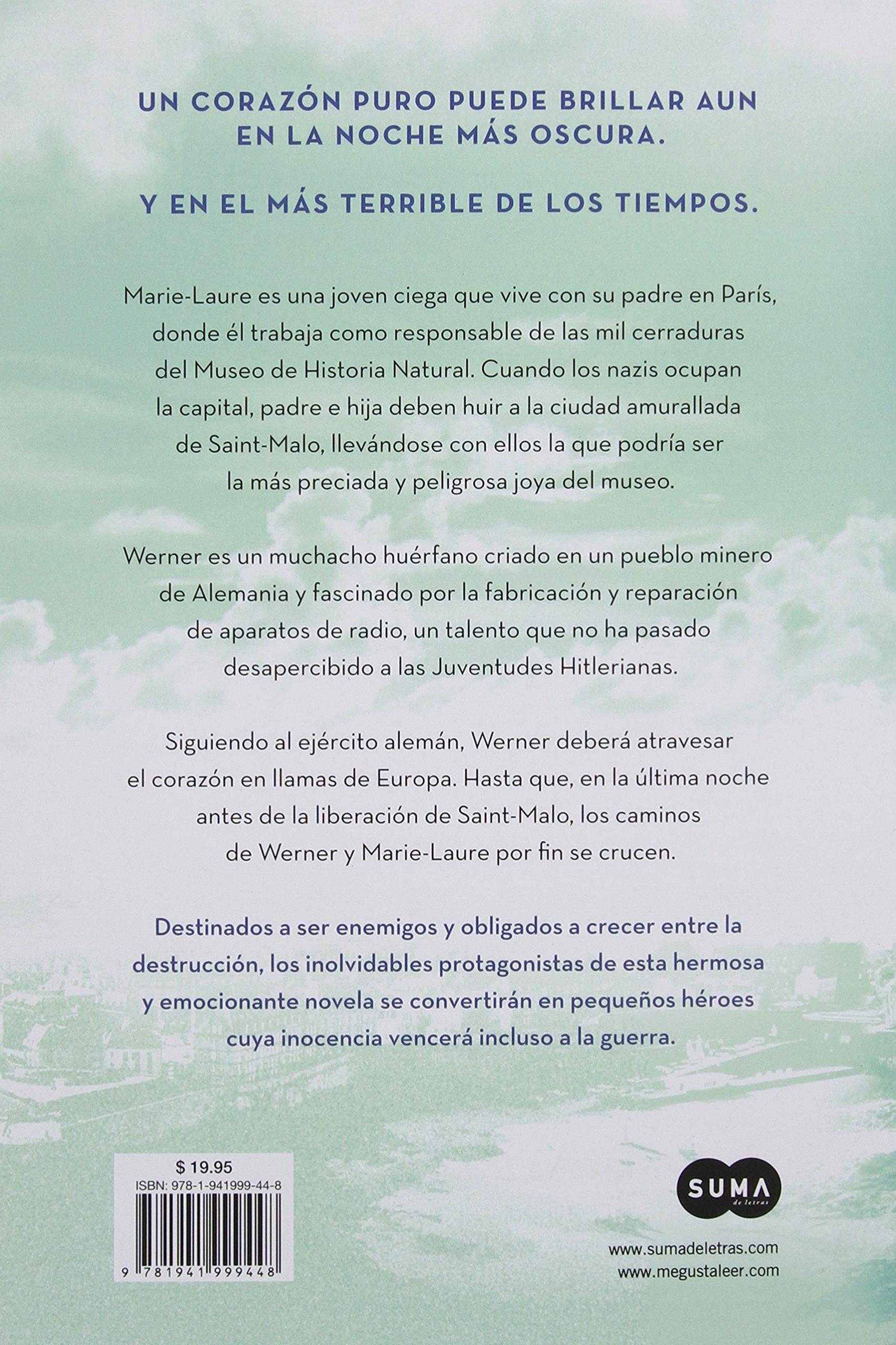 La Luz Que No Puedes Ver Spanish Edition Anthony Doerr - Que es us zip code