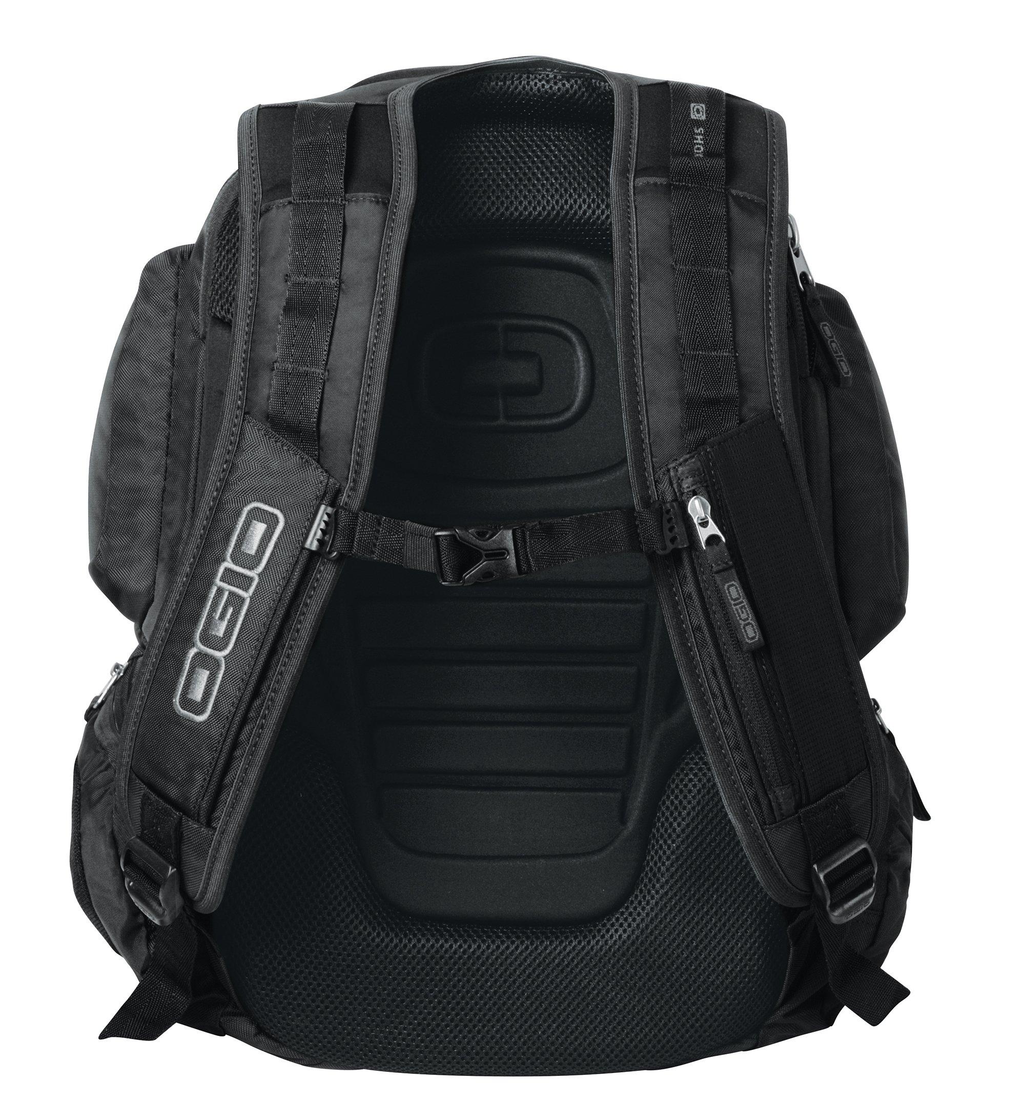 OGIO Squadron Pack Black 17'' Laptop / Macbook Pro Black Backpack by OGIO (Image #4)