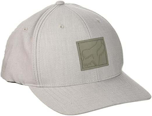 Gorra Flexfit Visera Redondeada Fox Sticks Light Heather Gris (S/M ...