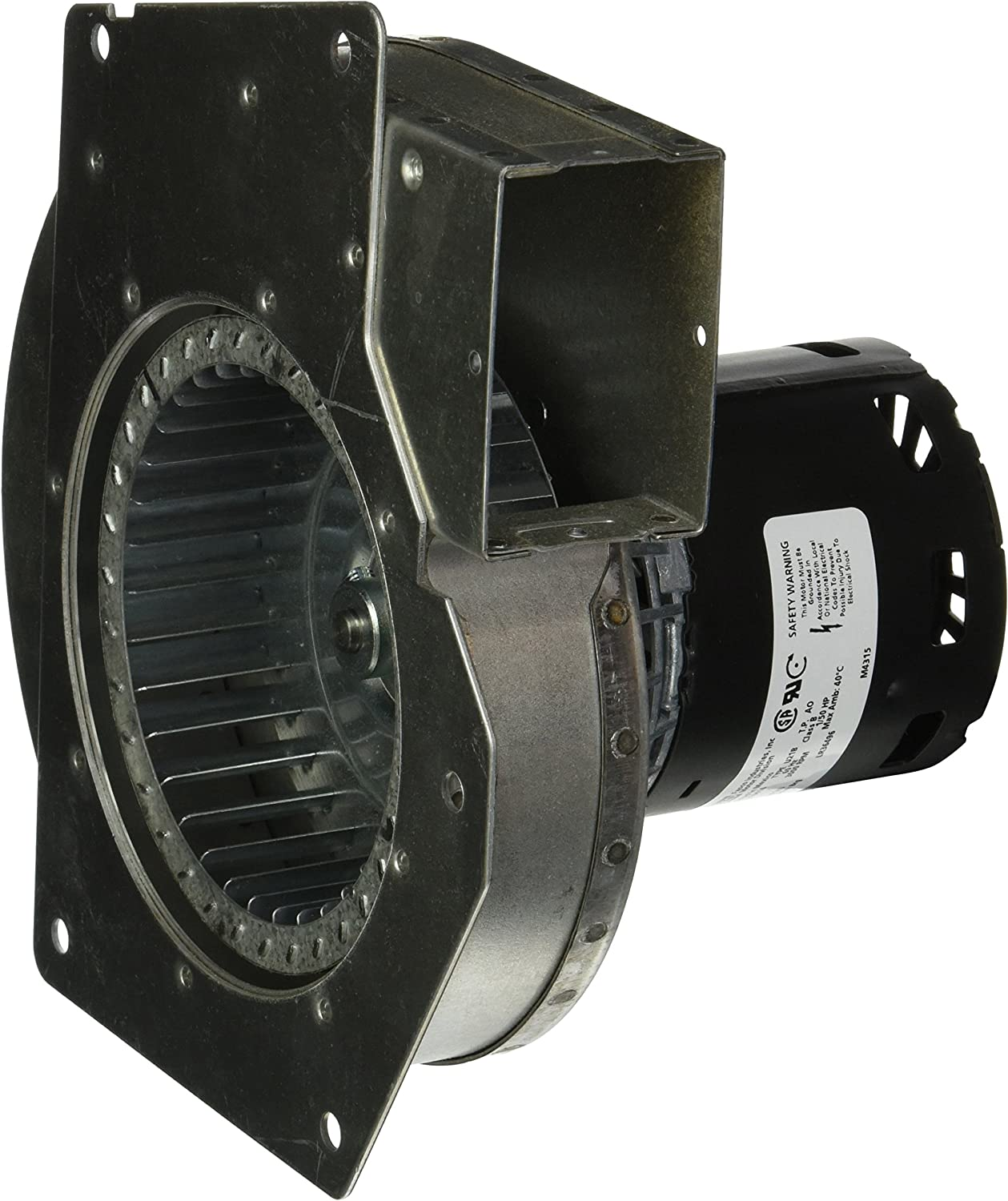 """Fasco A143 3.3"""" Frame Shaded Pole OEM Replacement Specific Purpose Blower with Sleeve Bearing, 1/50HP, 3000rpm, 115V, 60Hz, 0.95 amps"""