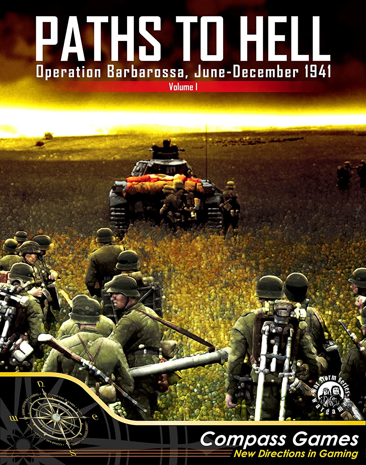 CPS: Paths to Hell, Barbarossa, June-December 1941, Boardgame