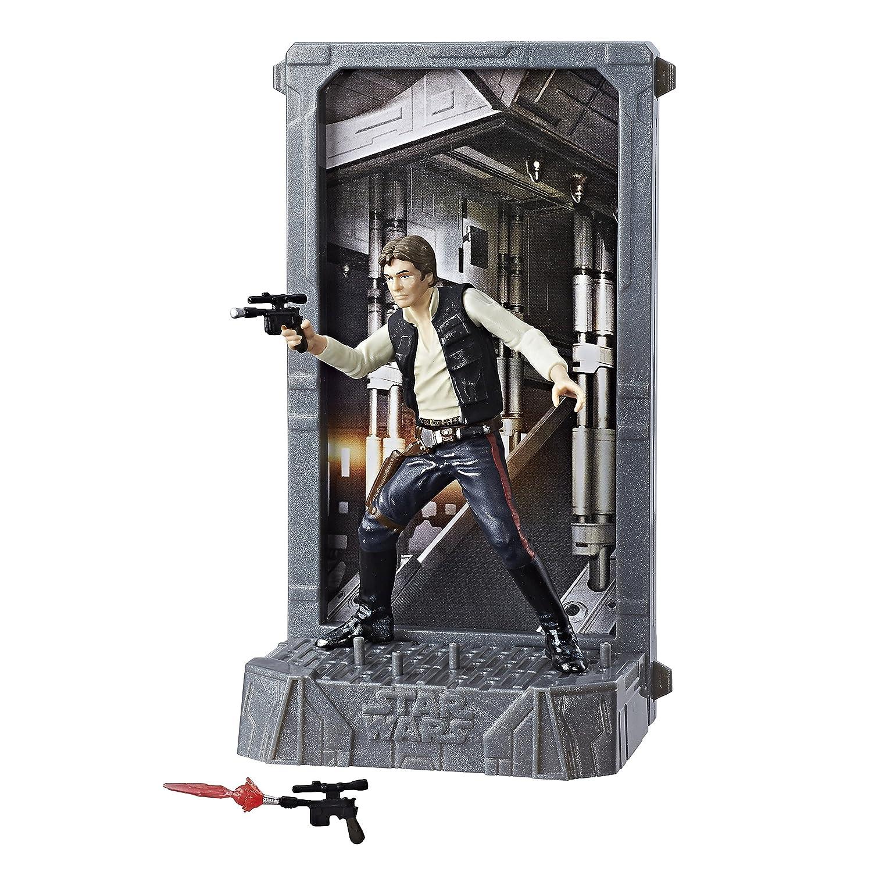 Star Wars Black Series Titanium 40th Anniversary Han Solo Action Figure Hasbro C1857