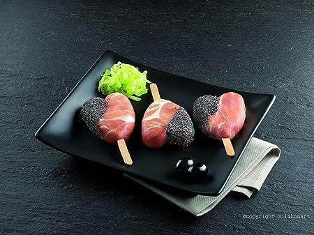 silikomart Finger Food Herz - Molde para helados pequeños con forma de corazón, color blanco: Amazon.es: Hogar