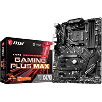 MSI Performance Gaming AMD X470 Ryzen 2ND and 3rd Gen AM4 DDR4 DVI HDMI Onboard Graphics CFX ATX Motherboard (X470…