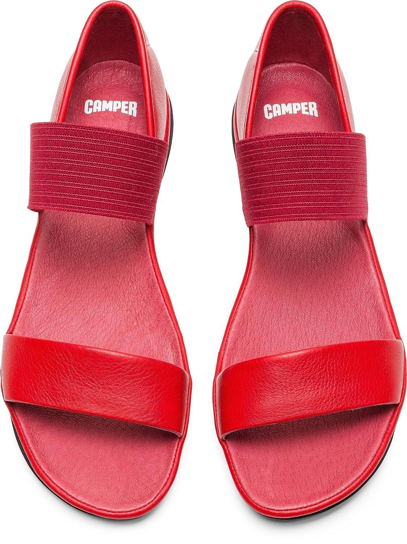 CAMPER Sandalen Right 21735-008 Damen Klassische Sandalen CAMPER Chilli/schwarz cf05b7