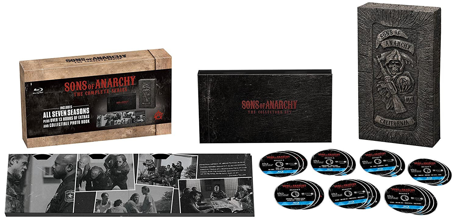 Sons of Anarchy: The Complete Series - Reaper Collector's Boxed Set Edition [Blu-ray]