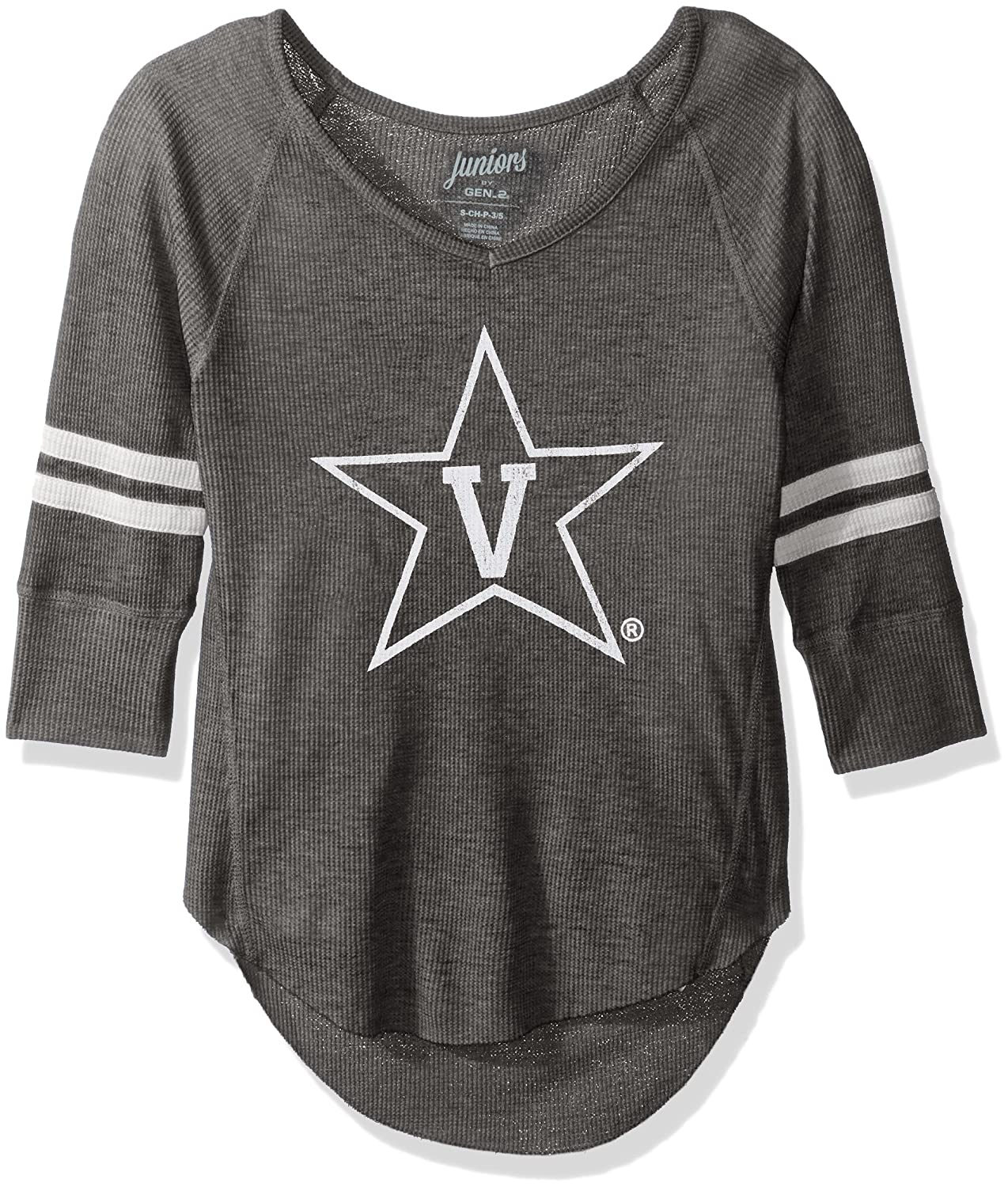 NCAA Arizona State Sun Devils Juniors Outerstuff Relaxed 3//4 Raglan Thermal Top Team Color X-Small 0-1