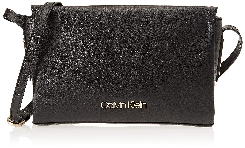 Calvin Klein Jeans Frame Ew Crossbody, Sacs bandouliè re Femme, 6x16x25 Centimeters (B x H x T) Sacs bandoulière Femme Gris (Steel Greystone) K60K604447