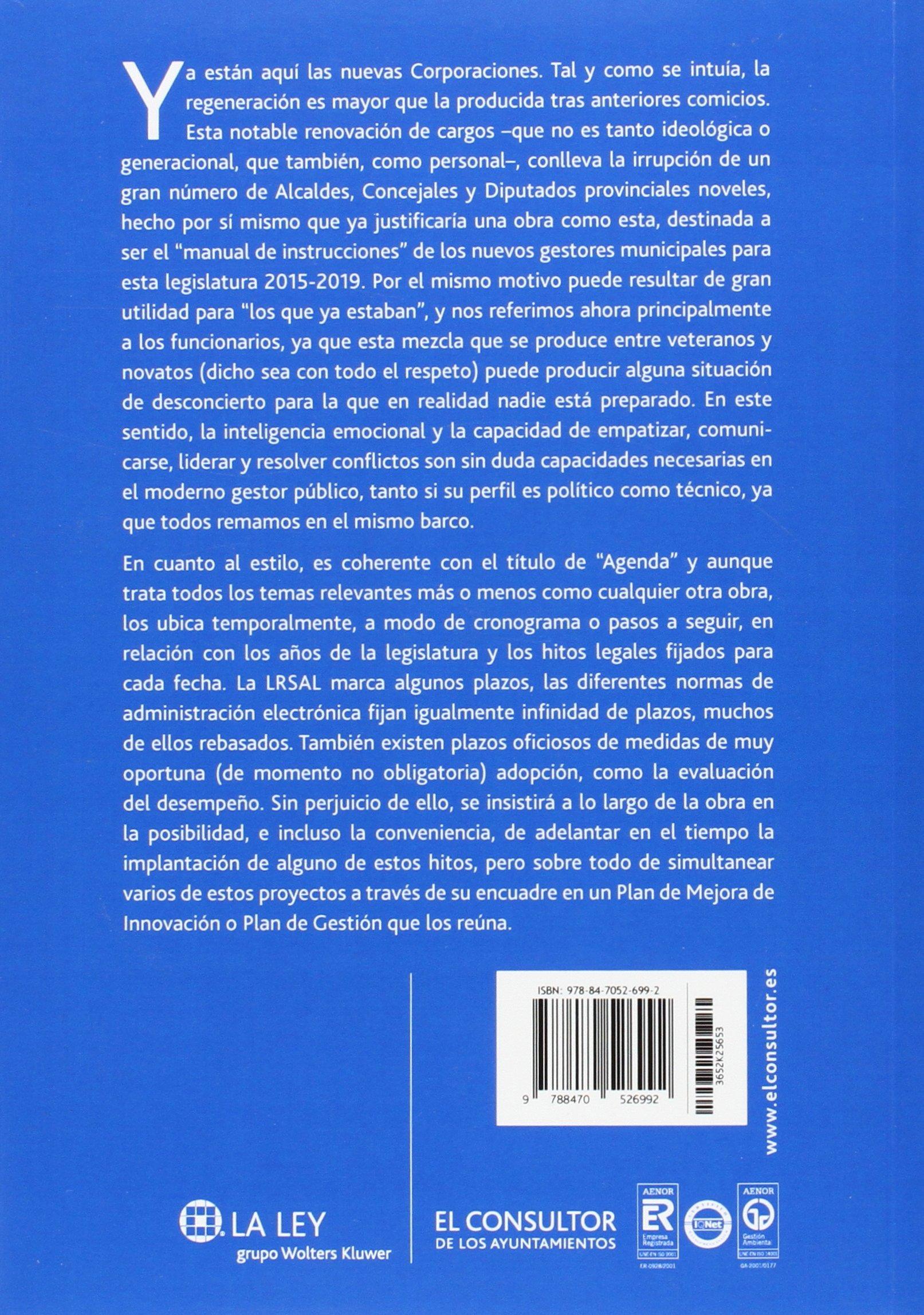 Agenda para la gestión municipal 2015-2019: Víctor Almonacid ...