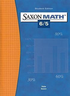 Saxon math 54 saxon publishers 9781565775039 amazon books saxon math 65 student edition 2004 fandeluxe Image collections