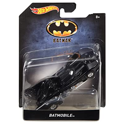 Hot Wheels Batman 1989 Batmobile Vehicle: Toys & Games
