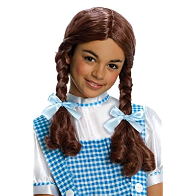 Wizard of Oz Dorothy Wig, Child size: Toys & Games